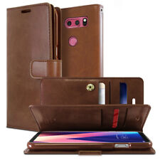For LG G FLEX2 Case Cover ShockProof Quick circle window flip leather wallet