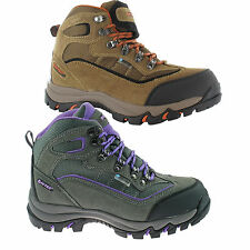Hi-Tec Mens Suede Leather Lace-up Hiking Boot Style -  Keswick WP