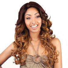Isis Brown Sugar Human Hair Blend Soft Swiss Lace Front Wig - BS207