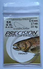 CORTLAND PRECISION TAPERED LEADER - 4 sizes available