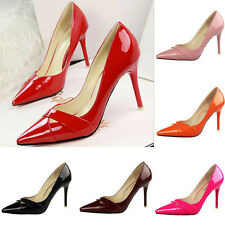 New Sexy Womens High Heels Pointed Toe Shallow mouth Stilettos OL Office Shoes!