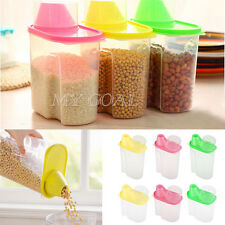 2.5L Dry Dried Food Cereal Pasta Flour Storage Dispenser Food Rice Container Box