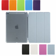 Magnetic Smart Thin Leather Stand Cover Hard Shell Case for iPad Air/iPad Air 2
