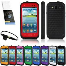 NEWEST WATERPROOF CASE FOR SAMSUNG GALAXY S3 SIII DIRTPROOF W/