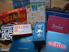 BOARD GAMES   TRADITIONAL, VINTAGE etc  -- click on the site to chose and order