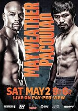 FLOYD MAYWEATHER vs MANNY PACQUIAO May 2nd 2015 PHOTO Print POSTER Official 001