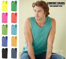 Comfort Colors Men's Cotton Pigment Dyed Tank Top Shirt Sleeveless 9360 S-3XL