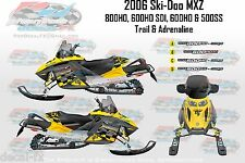 2006 Ski-Doo MXZ Decals 800 600 500 HO SS SDI Sled PowerTek Trail Adrenaline