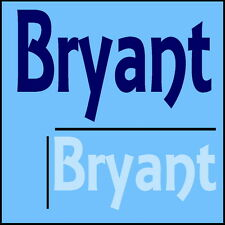 Bryant Boys Name Wall Sticker -18x40cm Interior Home Vinyl Decal Decor Sign