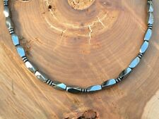 Men's Magnetic Hematite NECKLACE Twists AAA+ SUPER STRONG Clasp FREE SHIPPING