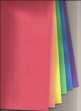 Coloured Foam Sheets - One of each colour (6) per pack