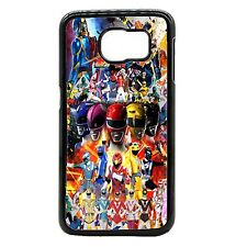 Google Five Power Rangers Cover Case For Samsung Galaxy S3 / S4 / S5 / Note