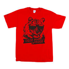 OFFICIAL Charlie Sheen - Tiger Blood T-shirt NEW Licensed Band Merch ALL SIZES