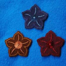Flower Floral Iron on Sew Patch Cute Applique Badge Embroidered Nature