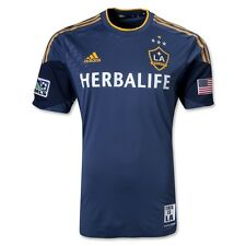 NEW LA Galaxy MLS Authentic 2013/2014 Player Version Formotion Soccer Jersey NWT