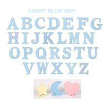 Kidkraft Wooden MDF Wall Hanging Letter 8 Inch High x .6 Thick Sky Blue