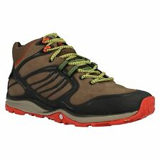 MENS MERRELL VERTERRA MID WATERPROOF WALKING LACE UP TRAINERS BOOTS J01779