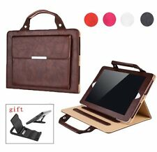 Universal Carrying Handbag PU Leather Case Cover with Stand For iPad 2 3 4 +Gift