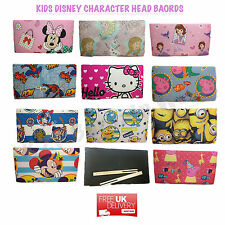 KIDS CHILDRENS DISNEY BED HEADBOARD BOYS GIRLS BEDROOM FURNITURE SINGLE DIVAN
