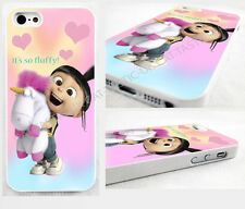 case,cover fits iPhone models DESPICABLE/fluffy/AGNES/PONY/unicorn ,minions