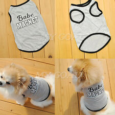 Pet Puppy Summer Shirt Small Dog Cat Pet Clothes Vest T Shirt Apparel Costume