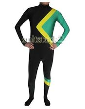 Fancy dress Party Cool Runnings Jamaican Bobsled Team Skin Costume size S-XXL