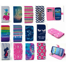 2015 Magnetic Flip PU Leather Stand Wallet Case Phone Cover For Samsung
