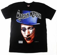 MARILYN MANSON : mOBSCENE MEN'S T-SHIRT BLACK