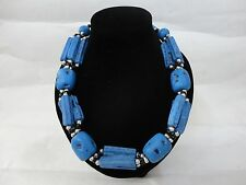 Handcrafted Moroccan african artisan Stone necklace