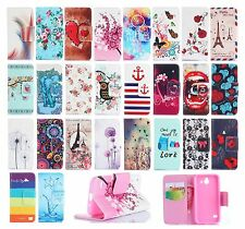Magnetic Wallet Printed Book Leather Card Flip Stand Fashion Lovely Case Cover