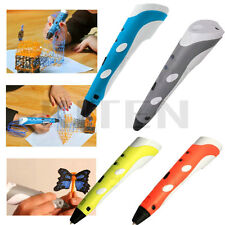 3D Printing Pen Drawing Art Crafting Tool Stereoscopic Printer Modelling Making