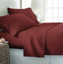 1800 Series Hotel Quality 4 Piece Bed Sheet Set - High Thread Count Deep Pockets