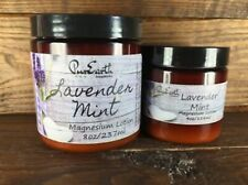 Organic Lavender Mint Magnesium Lotion Great for Eczema  & Pain Relief Baby Safe