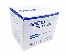 5 Pcs Needles Medint Needle Hypodermic Needles Sizes 18G - 30G Small Pack of 5