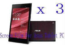 3 Clear Glossy Matte LCD Screen Protector Guard Film Cover Skin F Asus Tablet PC