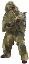Woodland Ghillie Suit - 5 Piece Camo - Paintball, Airsoft, Hunting, or Costumes