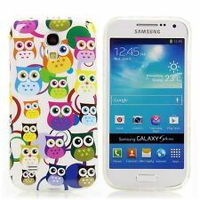 Cases Apple HTC LG Sony Samsung Cover Case Wallet Silicone Many Owl White