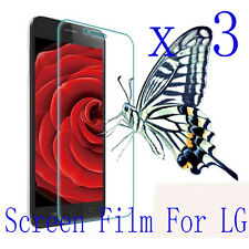 3 Clear Glossy Matte LCD Screen Protector Film Cover Pouch For LG Mobile Phone 1