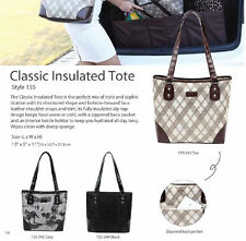Sachi 155 style classic Insulated Lunch Tote