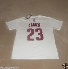 Cleveland Cavaliers LeBron James #23 Men's T-Shirt NBA Basketball New
