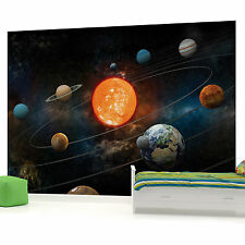 Planets Boys Teenager Bedroom PHOTO WALLPAPER PICTURE WALL MURAL W1048 VE