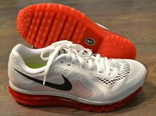 NEW Nike Air Max 2014 White Crimson Red Black Running Shoes