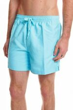 Calvin Klein Medium Length Swim Shorts in Turquoise