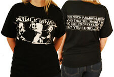 "Michale Graves ""Too Much Paranoia"" Double Sided T-Shirt - FREE SHIPPING"