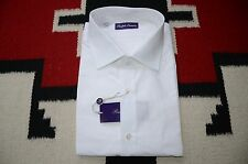 Ralph Lauren Purple Label Made in Italy 100% Cotton Dress Shirt