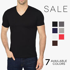 Alternative Apparel Men's Premium V-Neck T-Shirt Basic Plain V Neck Tee AA1032