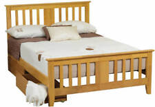 Sweet Dreams Kestral Oak Shaker style Solid Wood 150cm King Size Bed 5FT