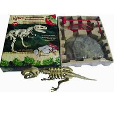 Dino Fossil Figure Dinosaur Skeleton Excavation Kit Dig Discover Toy Kids Gift