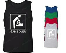 Game Over Baby Men's Tank Top Funny tops funny bachelor party marriage wedding