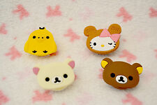 Recoge cable auriculares / Rilakkuma and hello kitty earphone cable winder